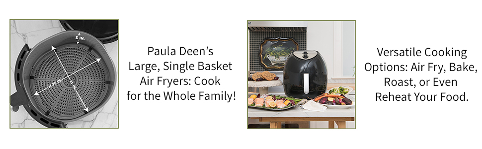 Paula Deen Air Fryer (9.5QT)