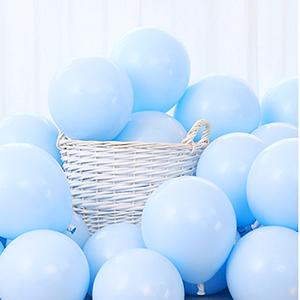 sky blue balloon