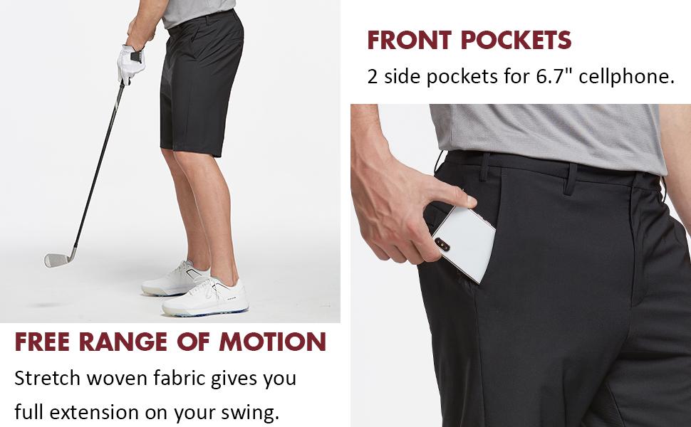 mens shorts for golf