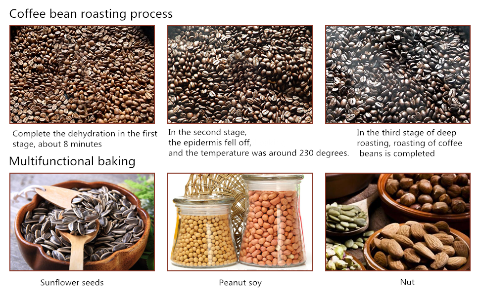 multi-function coffee bean roaster