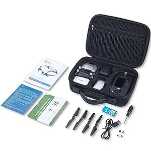 Flashandfocus.com 5ae49555-4b04-481a-af99-fe54f998bdd0.__CR0,0,1500,1500_PT0_SX300_V1___ Contixo F30 Drone for Kids & Adults WiFi 4K UHD Camera and GPS, FPV Quadcopter for Beginners, Foldable mini drone…