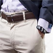 A belt for a gentleman