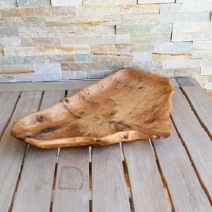 root wooden dish