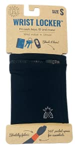 small athletic wrist wallet