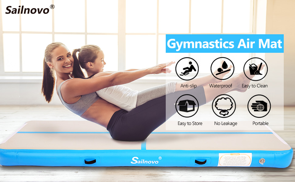 Gymnastics Air Mat Tumble Track Tumbling Mat