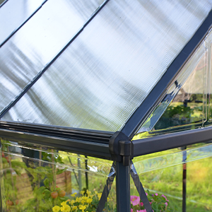 Palram Invernadero Mythos 6x10 Con Base de Policarbonato/Aluminio