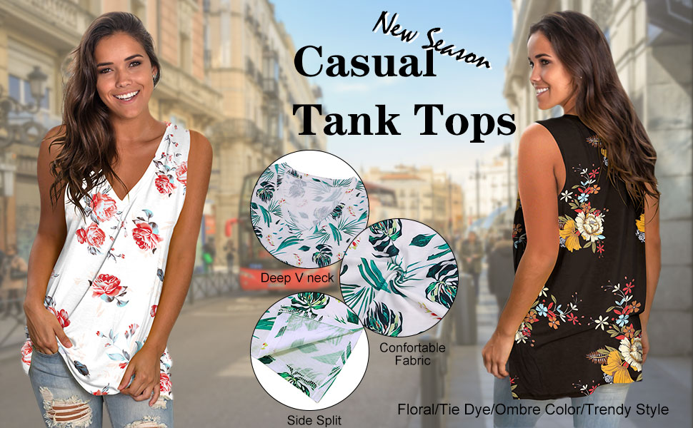 summer tank tops for women