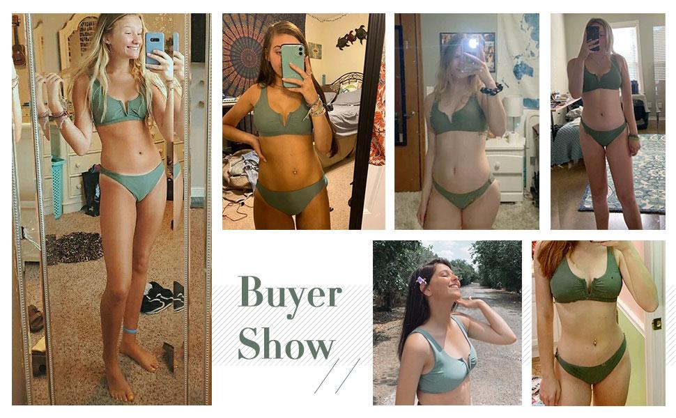cute bikini set for summer vacation beach