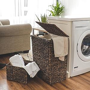 Woven Laundry Hamper