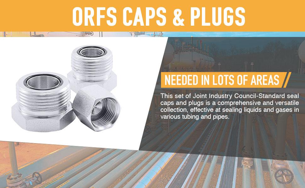 ORFS Cap amp; Plug