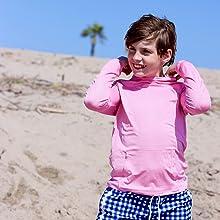 boys kids hoodie shedo lane upf 50+ sun protection clothing