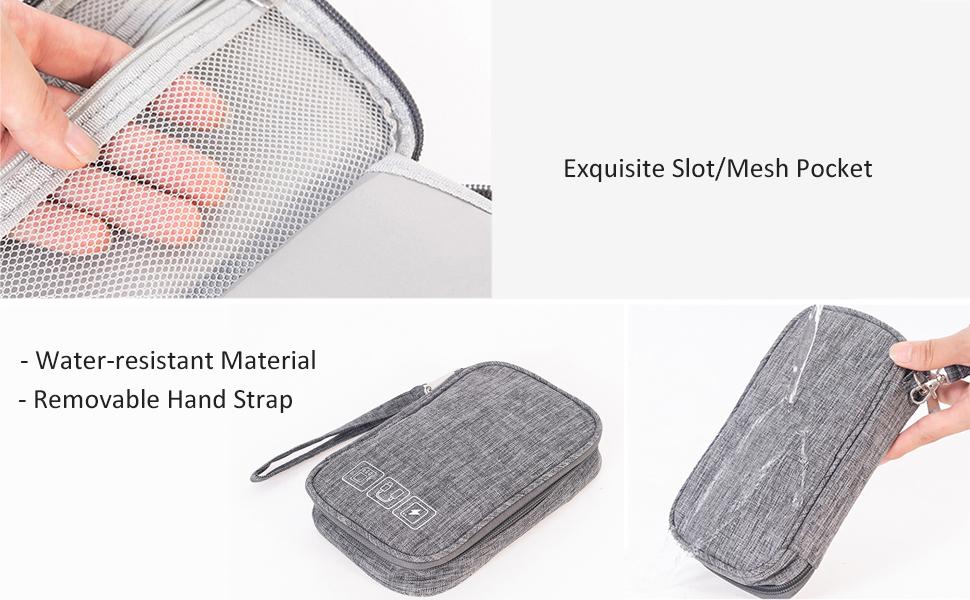 Electronics Accessories Pouch Bag