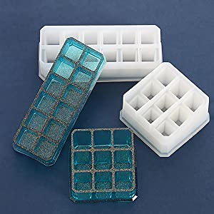 Silicone Resin Molds Epoxy Casting Molds Jewelry Box Molds Making DIY Crafts Home Decoration