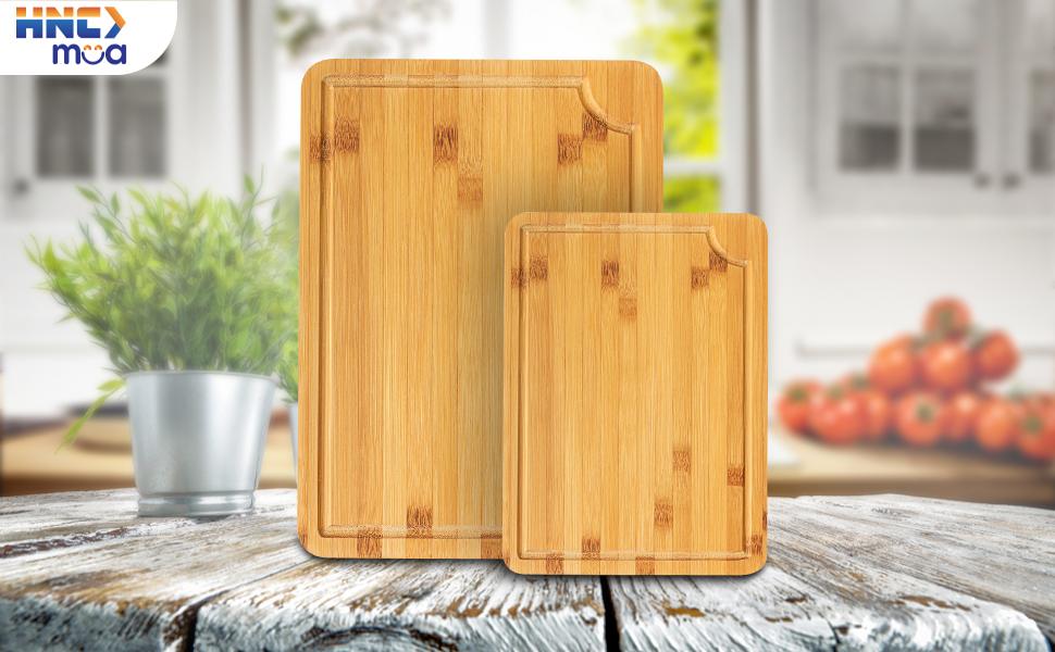 combo bamboo cutting board