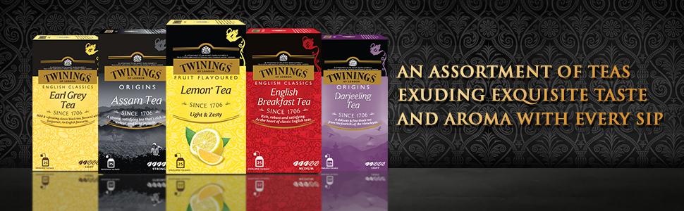 Twinings Lemon Tea, 25 Teabags