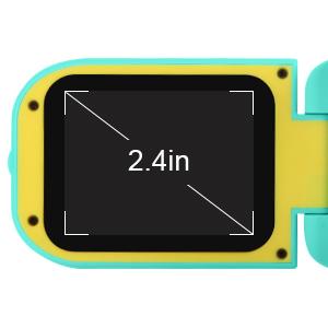 2.4 inch IPS Screen