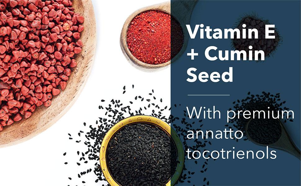 Annatto Tocotrienols with black cumin seed