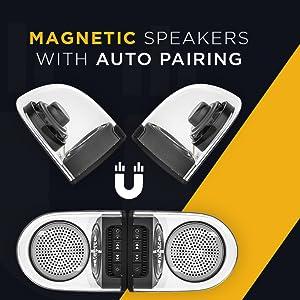 Macjack Wave 98 TWS Wireless Portable Bluetooth Speaker 6W HD Sound Rich Bass Time Built in Mic