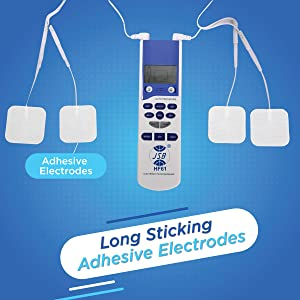 long sticking adhesive electrodes