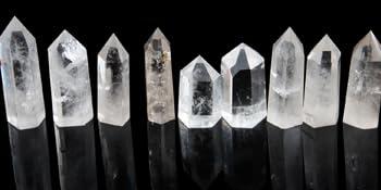 clear quartz wand