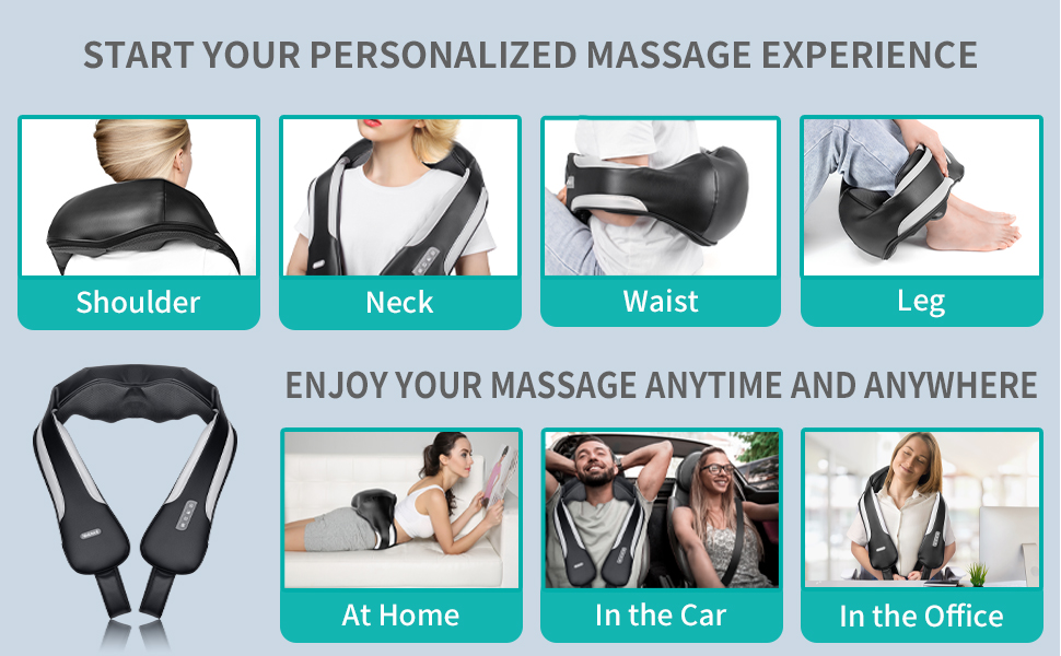 neck back soulder massager