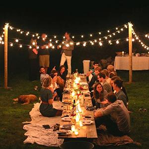 exterieures solaires extérieures illuminations terrasse lampe tonnelle lumiere aesthetic mariage