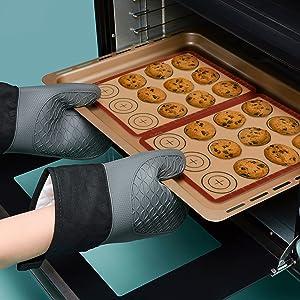 tapis de cuisson pour faire du biscuits au four