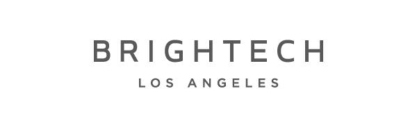 Brightech Elizabeth Industrial Floor Lamp with Glass Shade amp; Edison Bulb