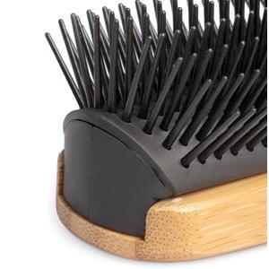 any hair types curly wavy man short long hair brush bamboo