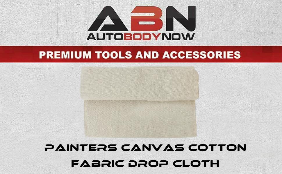 ABN | Painters Canvas Cotton Fabric Drop Cloth