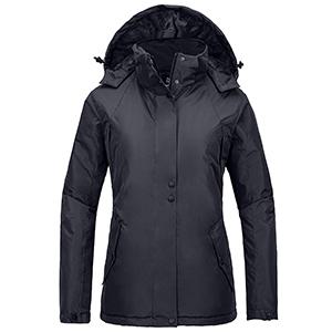 Wantdo Women's Mountain Rain Jacket Windproof Ski Coat Waterproof Warm Outwear