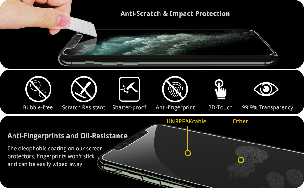 screen protector for iphone 11 pro