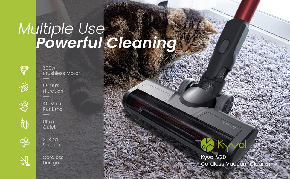 V20 cordless vacuum