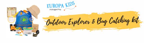Europa Kids Outdoor Nature Explorer Kit