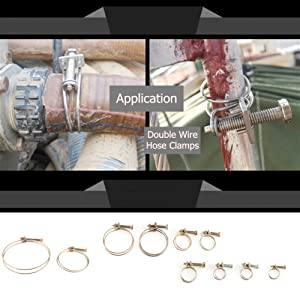 Double Wire PIPE Hose ClampS