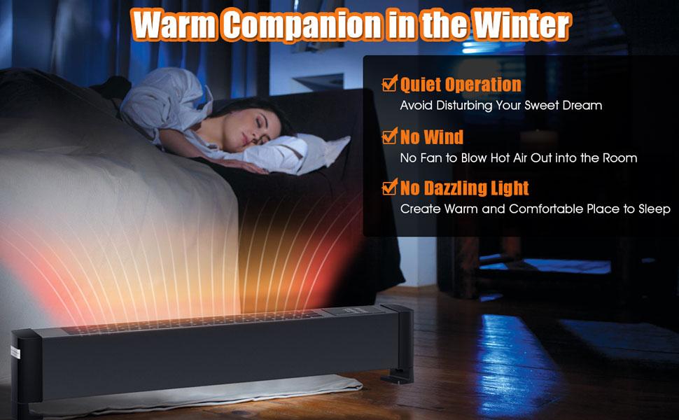 baseboard heater plug in