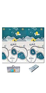 Penguin Walk Play Mat
