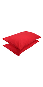 Red Pillow Cases