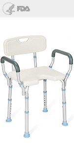 shower chair shower chair with arms and back shower chair for elderly bathtub seat
