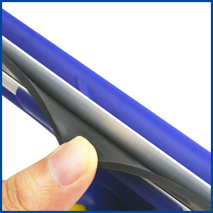 soft natural rubber blade channel take you streak free solution sparkling window wiper water easily
