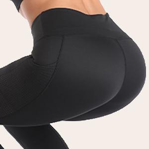 non see throught workout capris
