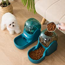 hipidog Automatic Pet Feeder and Waterer Big Capacity 3.8 L