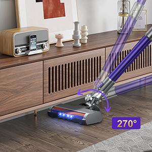 aspirateur balai sans fil puissant et léger