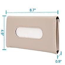 car visor tissue holder