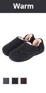 longbay men warm slipper