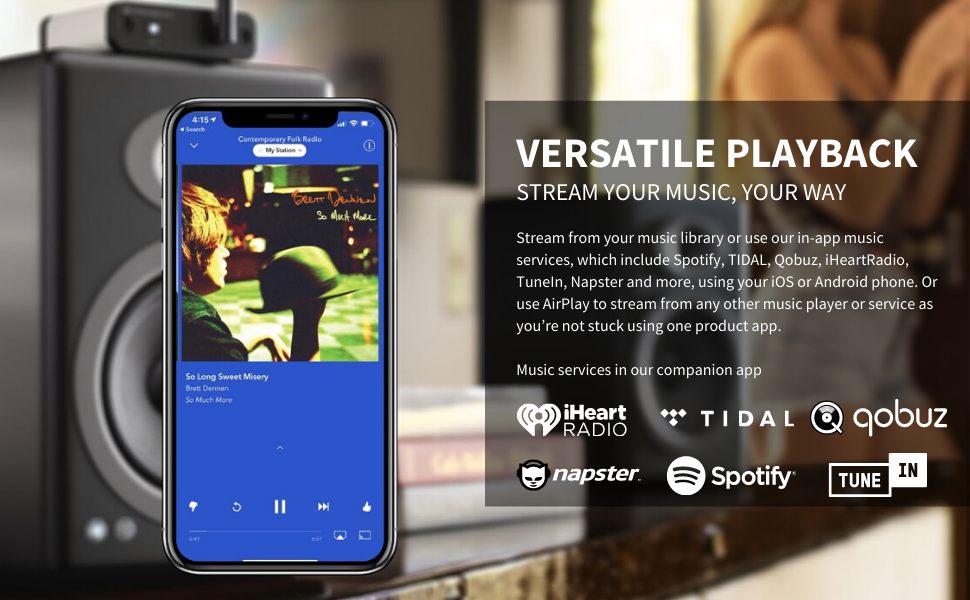 Stream Your Music, Your Way