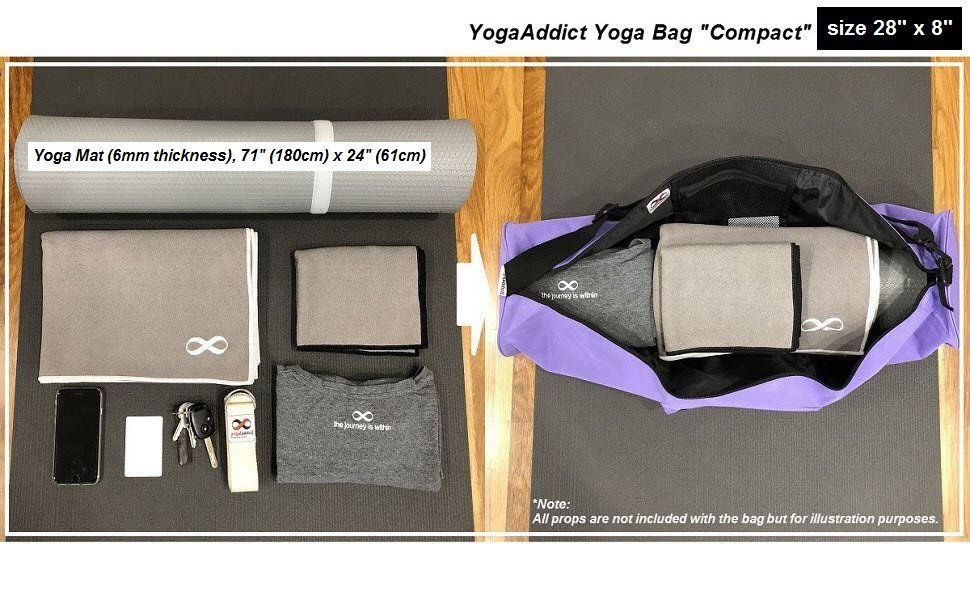 yoga mat bag and carrier with pockets extra large pilates bags