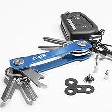 keyport pivot keysmart key holder key ring organizer compact key organizer smart key organizer