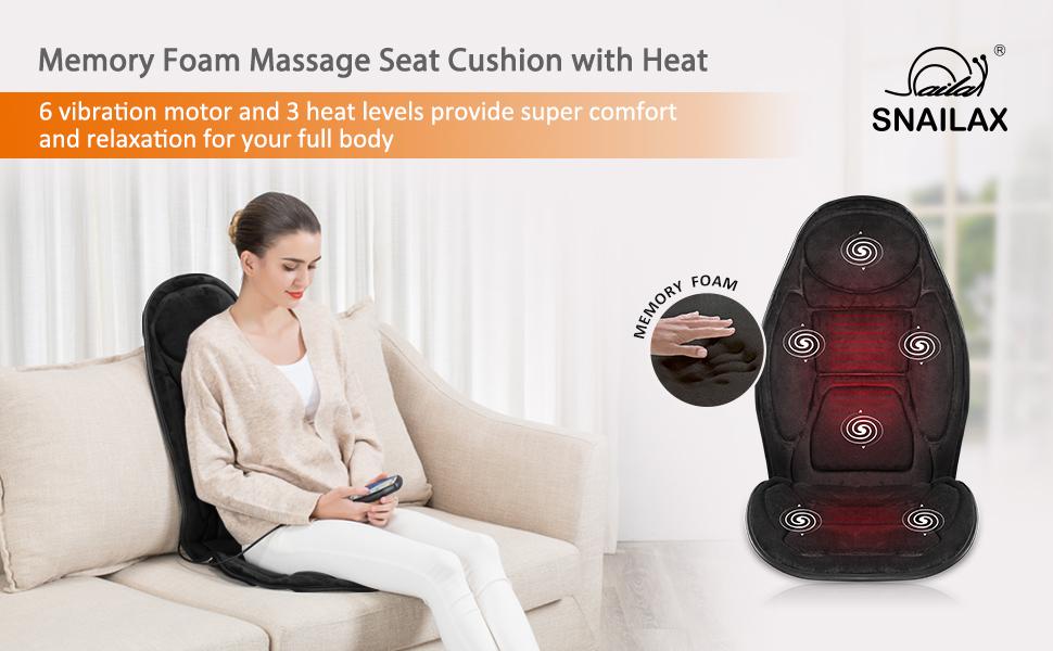 seat cushion massage chair pad massage chair back massager home use