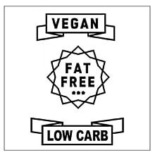 vegan fat free low carb